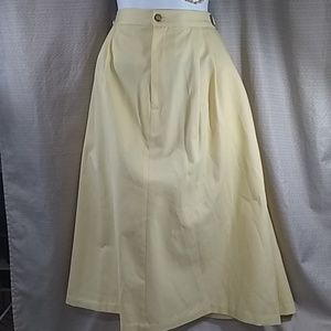 Plus size VTG ORVIS full maxi skirt size 18